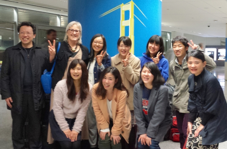 Soka University Nursing Student Delegation