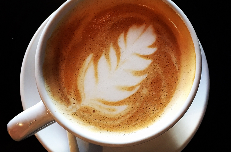 Image of a latte.