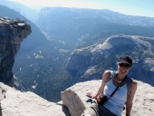 Picture of women at Yosemite's Half Dome