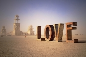 Picture with the word LOVE